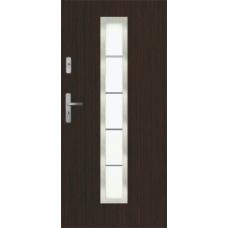 Металлическая дверь КТМ XIs1 венге