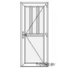 Входные двери ПВХ  Вариант 2