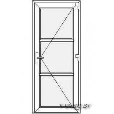 Входные двери ПВХ  Вариант 9