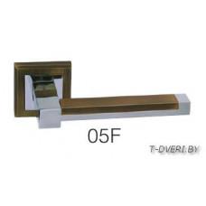 Ручка дверная  на квадратной розетке Zambrotto 05