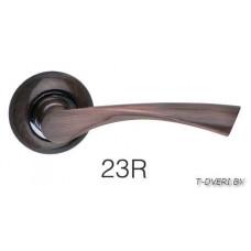 Ручка дверная на круглой розетке ZAMBROTTO 23