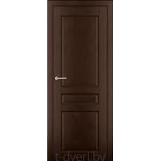 Дверь межкомнатная из массива ольхи Дорвуд модель Бостон ДГ Орех