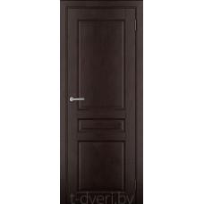 Дверь межкомнатная из массива ольхи Дорвуд модель Бостон ДГ Венге