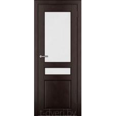 Дверь межкомнатная из массива ольхи Дорвуд модель Бостон ДО Венге