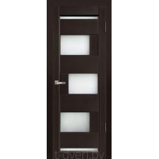 Дверь межкомнатная из массива ольхи Дорвуд модель Модена ДО Венге