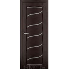 Дверь межкомнатная из массива ольхи Дорвуд модель Рафаэль ЧО Венге