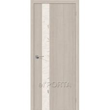 Межкомнатная дверь elPORTA экошпон модель ПОРТА-51 Silver Art