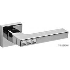 Дверная ручка FUARO модель CRYSTAL FLASH