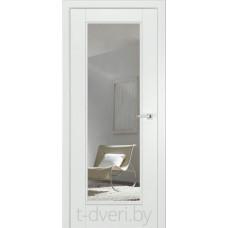 Межкомнатные двери крашенные эмалью Халес модель Аликанте тип F + зеркало