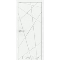"""Дверь межкомнатная крашенная эмалью """"Халес"""" модель Уника 3 Тип E"""