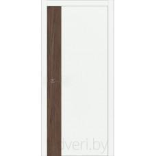 """Дверь межкомнатная крашенная эмалью со вставкой из шпона дуба """"Халес"""" модель Уника 4 Тип B"""
