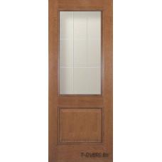 """Двери межкомнатные массив """"Халес"""" модель Версаль (Медовый дуб, Коньячный дуб)"""