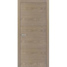 Дверное полотно шпонированное дубом «Халес» модель Уника 1 Рустик дуб