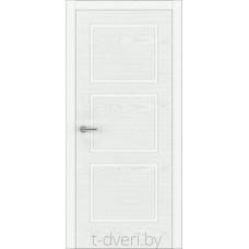 """Дверь межкомнатная шпон ясеня крашенная эмалью """"Халес"""" модель Уника 2 Тип C"""