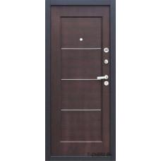 Металлическая дверь Йошкар модель FERRUM Венге