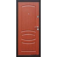 Металлическая дверь Йошкар модель Стройгост 7-2 Итальянский орех