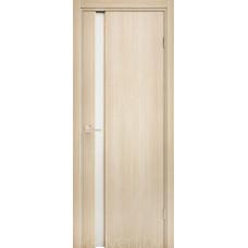 Дверь Эго 3-1, орех капучино, белый триплекс
