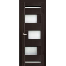 Межкомнатная дверь из массива ольхи модель Модена ДО Венге