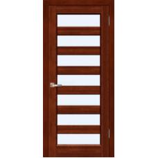 Межкомнатная дверь из массива ольхи модель Премьер Плюс ДО Махагон
