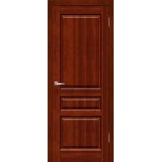 Межкомнатная дверь из массива ольхи модель Венеция ДГ Махагон
