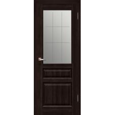 Межкомнатная дверь из массива ольхи модель Венеция ДО Венге