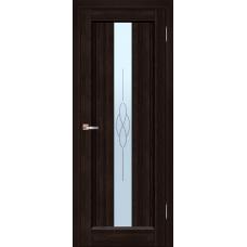 Межкомнатная дверь из массива ольхи модель Версаль ДО Венге