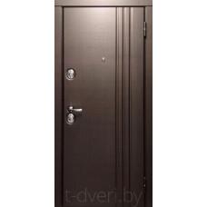 Металлическая дверь «Медведев и К» модель Лайн