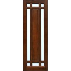 Дверь межкомнатная ОКА (массив ольхи), модель Альпина  ЧО (Жлобин, РБ)