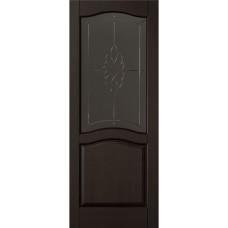 Дверь межкомнатная ОКА (массив ольхи), модель Лео  ДО (Жлобин, РБ)