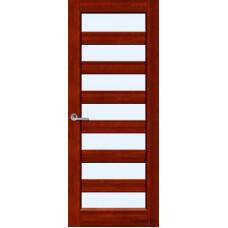 Дверь межкомнатная ОКА (массив ольхи), модель Премьер +  ДО (Жлобин, РБ)