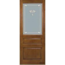 Дверь межкомнатная из массива сосны модель М5 ДО