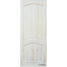Дверь межкомнатная из массива сосны модель М7 ДГ неокрашенная