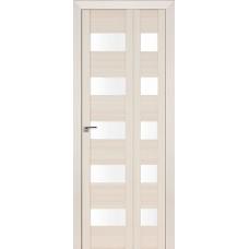 Дверь 29x складная Венге мелинга, стекло матовое