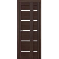 Дверь 7x складная Венге мелинга, стекло матовое
