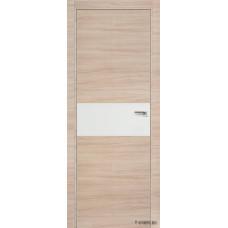 Межкомнатная дверь ProfilDoors 4Z,  частично остекленная,  белый лак