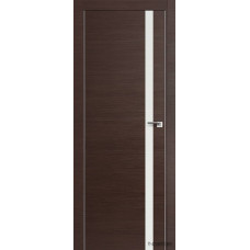 Межкомнатная дверь ProfilDoors 6Z,  частично остекленная,  белый лак