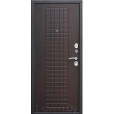 Металлическая дверь Омега трехуступчатая