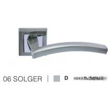 Ручка дверная на квадратной розетке SOLGER 06