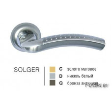 Ручка дверная на круглой розетке SOLGER 26