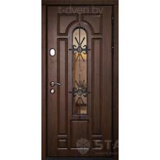 Входная металлическая дверь STALLER (СТАЛЛЕР) модель Бари