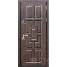 Входная металлическая дверь STALLER (СТАЛЛЕР) модель Квадро