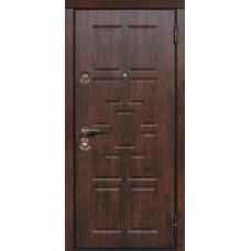 """Стальные двери «ЮрСталь» модель """"Квадро"""""""