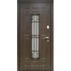 Металлическая дверь серии T-doors  модель Аврора-С