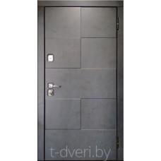 Металлическая дверь серии T-doors  модель Фьюжен