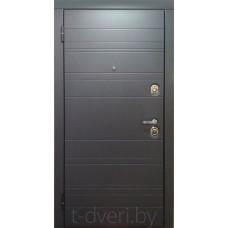 Металлическая дверь серии T-doors  модель Имидж (Kale) четырехуступчатая