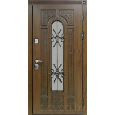 Металлическая дверь серии T-doors  модель Лацио-С четырехуступчатая