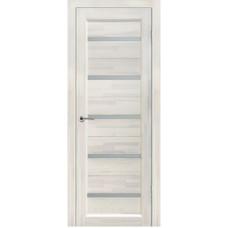 Дверь межкомнатная из массива сосны модель Вега 5 ЧО белый