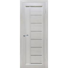 Дверь межкомнатная из массива сосны модель Вега 8 ЧО белый