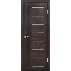Дверь межкомнатная из массива сосны модель Вега 8 ЧО венге