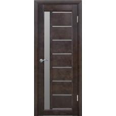Дверь межкомнатная из массива сосны модель Вега 9 ЧО венге